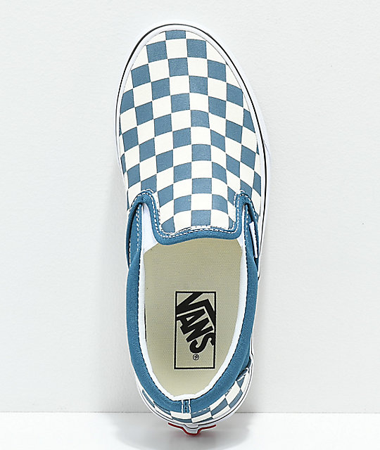 Vans Slip-On Corsair & True White Skate Shoes