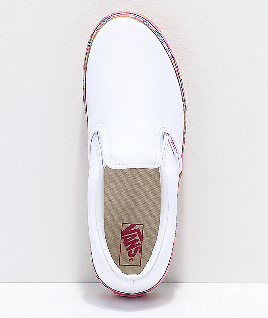 Vans Slip-On Donut  Platform Shoes