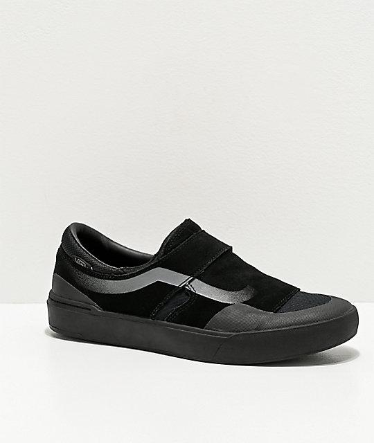 Männer Schuhe VANS SLIP ON PRO Blackout
