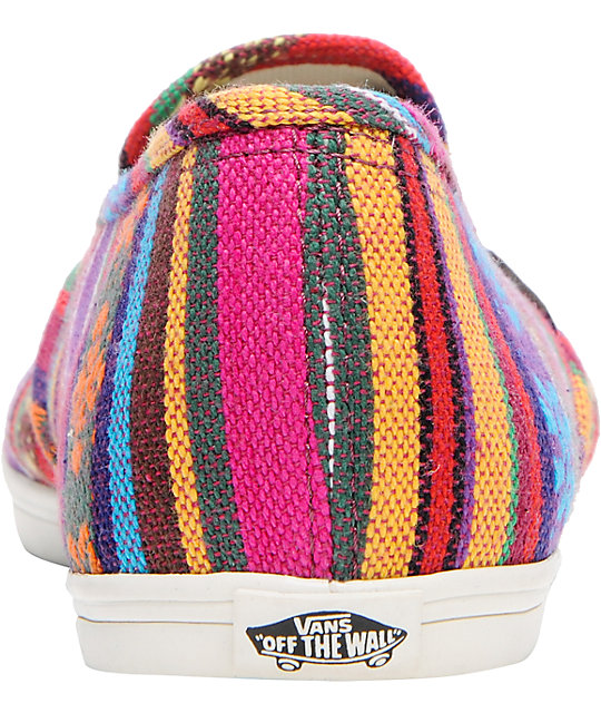 Vans Slip-On Lo Pro Guata Stripe Shoes
