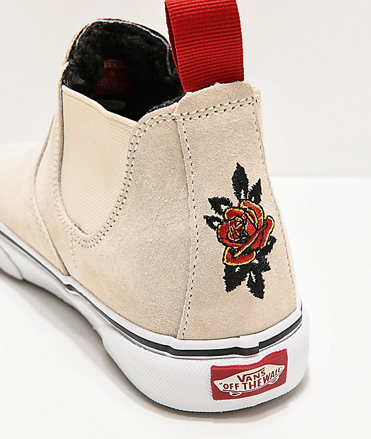 Vans Slip-On Mid MTE Mary Rand Turtledove & True White Shoes