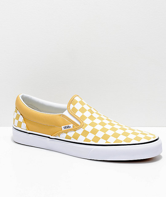 Vans Slip On amarillo