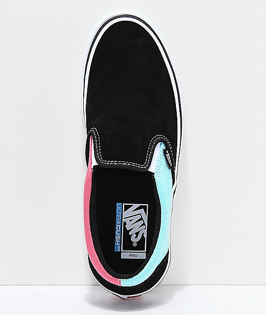 7b3f4a419f ... Vans Slip-On Pro Asymmetrical Black