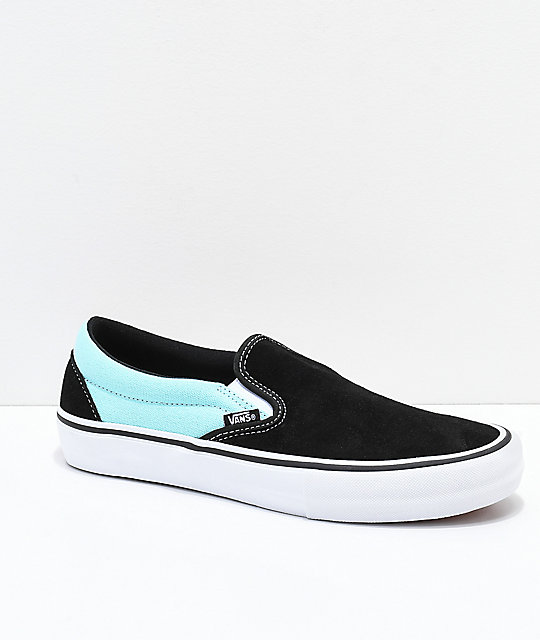e0b4725b5 Vans Slip-On Pro Asymmetrical Black