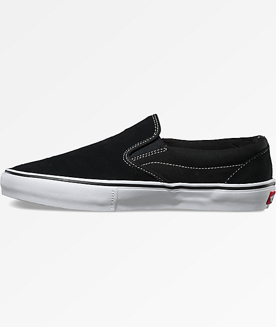 Vans Slip-On Pro Black & White Shoes