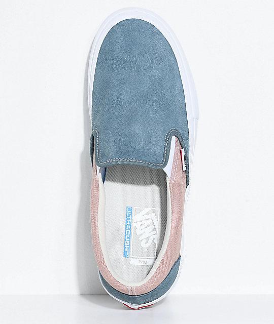 ... Vans Slip-On Pro Goblin Blue   Mahogany Rose Skate Shoes ... ecf50d9f6