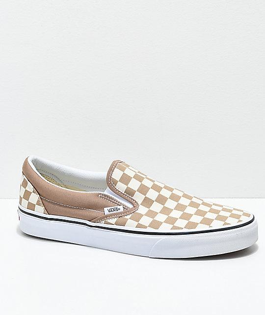 Tan Van Shoes Womens