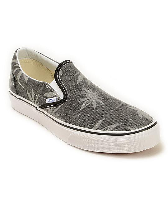 Vans Slip-On Van Doren Palm Skate Shoes ...