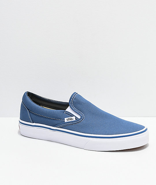 zapatos vans azul marino