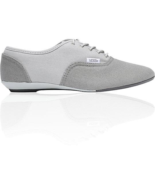 0e3b4a863f Vans Sophie Grey   Light Grey Shoes