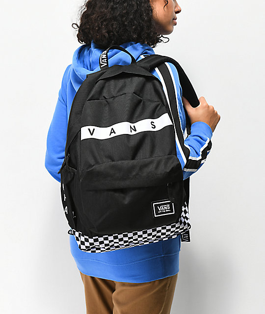 Vans Sporty Realm Plus Black & White Backpack