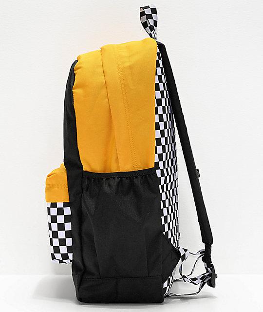 mochila vans amarilla