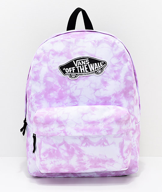 12c59ad683da Vans Sporty Realm Violet Cloudwash Backpack