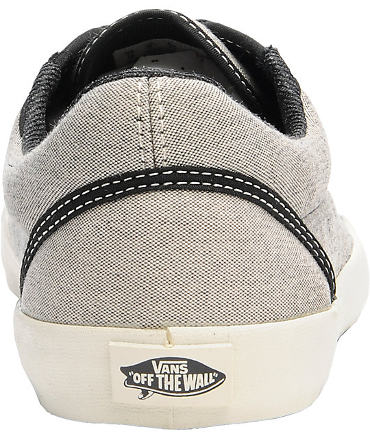 Vans Srpls Grey Chambray Surf Skate Shoes