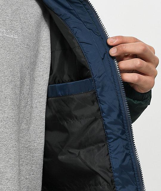 5052dde74c6 ... Vans Starboard Blue   Green Zip Jacket