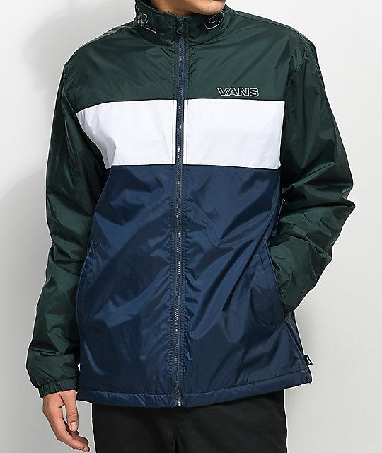 vans green jacket