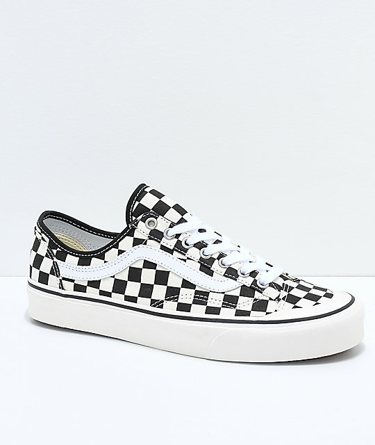 Vans Style 36 Decon SF Black & White Checkered Skate Shoes