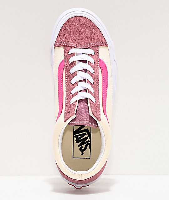Vans Style 36 Retro Sport Pink Skate Shoes