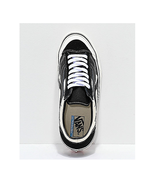 Vans Style 36 SF Flame Black & White Skate Shoes