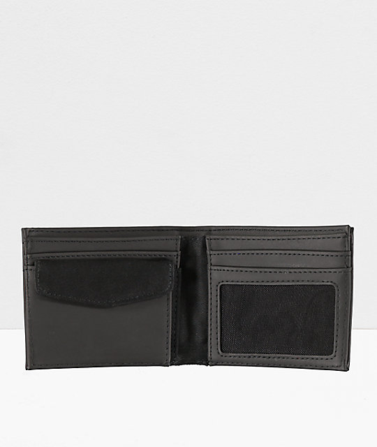 Vans Suffolk Black Bifold Wallet