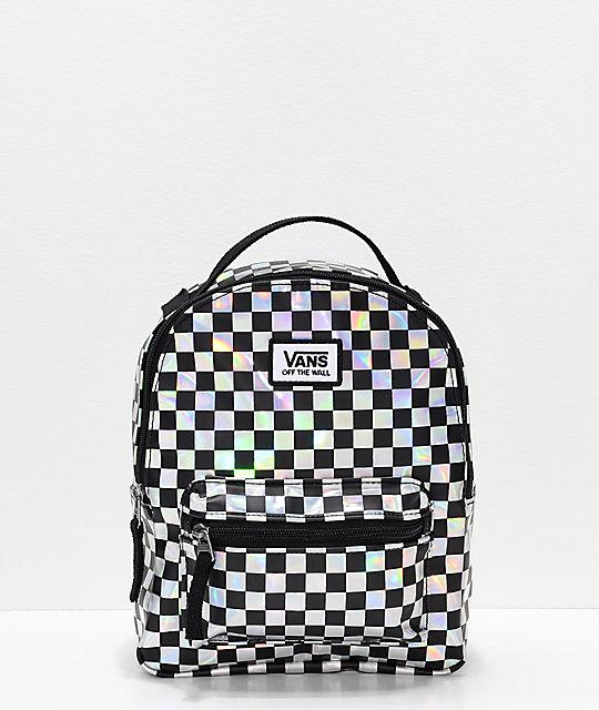 ece321f8 Vans Sunny Daze Iridescent Mini Backpack