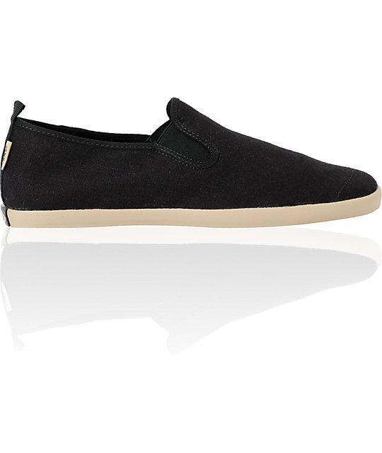 e304a034ec Vans Surfjitsu Black   Khaki Hemp Slip On Skate Shoes