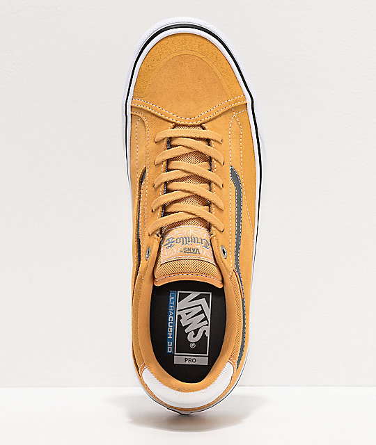Vans TNT ADV Prototype Oak Buff Skate Shoes