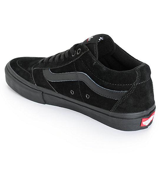 7aeffb5627 ... Vans TNT SG Blackout Skate Shoes ...