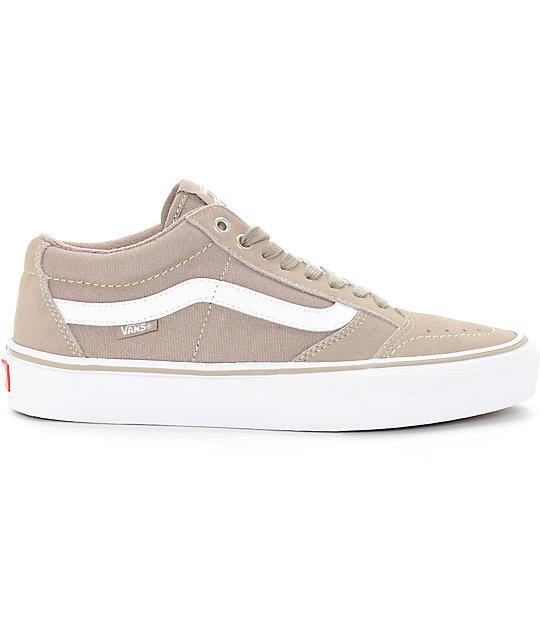 010e891df7 ... Vans TNT SG Taupe   White Skate Shoes