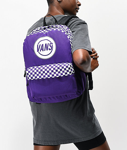Vans Taper Off Realm Violet Indigo Backpack