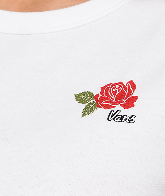 Vans Thank You Rose White Baby T-Shirt