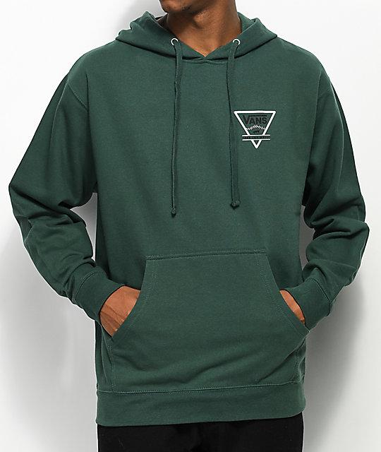 d5d0d02c96 Vans Triangle Alpine Green Hoodie