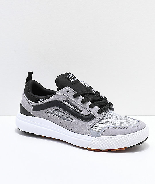 4ab0d36a570 Vans UltraRange 3D Grey Alloy and White Shoes