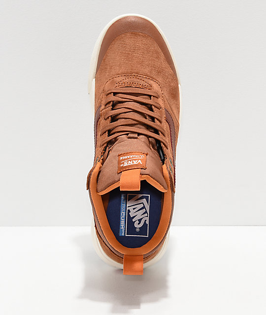 Vans UltraRange Hi MTE Ginger & White Shoes