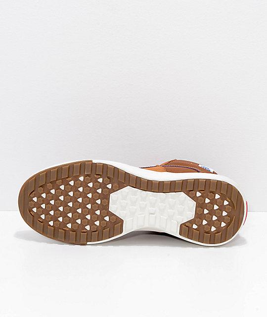 3c8f14d210212c ... Vans UltraRange Hi MTE Glazed Ginger   White Shoes