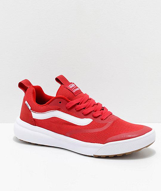 Vans UltraRange Rapidweld Chili Pepper zapatos en rojo y blanco ... Vans  Surf rojo . cbcd6c4c4cd