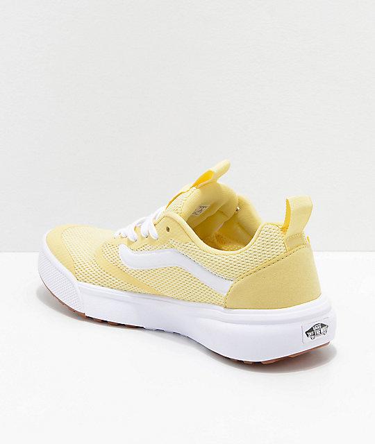 vans ultrarange womens yellow nz
