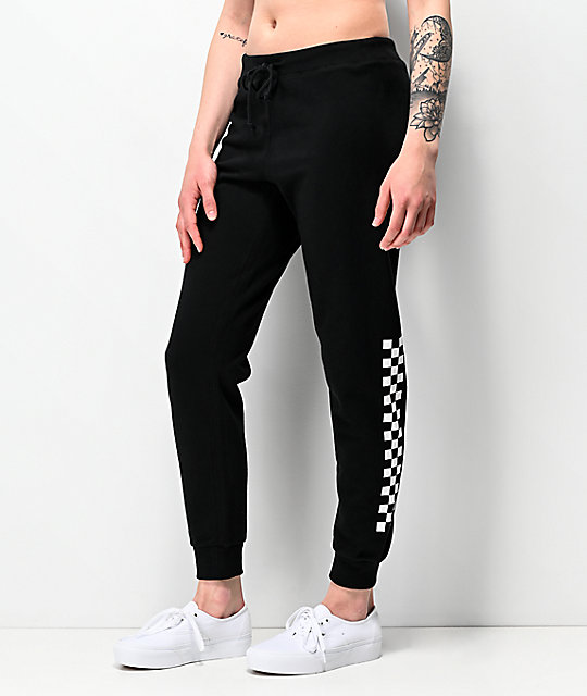 Vans Unseen Black Checkerboard Sweatpants