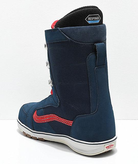 b0684f8b5f ... Vans V-66 Blue Snowboard Boots ...