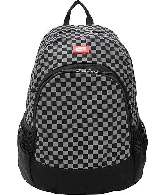 Vans Van Doren Classic Black Backpack   Zumiez