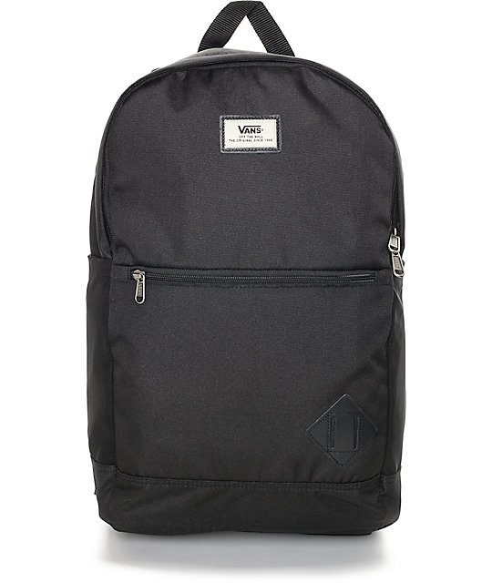 04b0d7dc75 Vans Van Doren II 29L Black Backpack