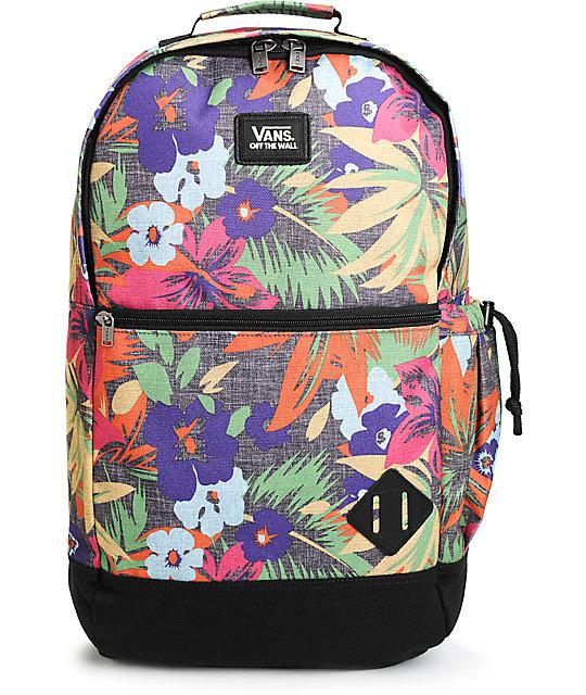 2af1977986 Vans Van Doren II Hampton Floral 29L Backpack