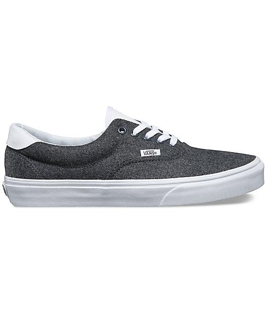 ... Vans Varsity Era 59 Charcoal   White Shoes 91a94b4845d2