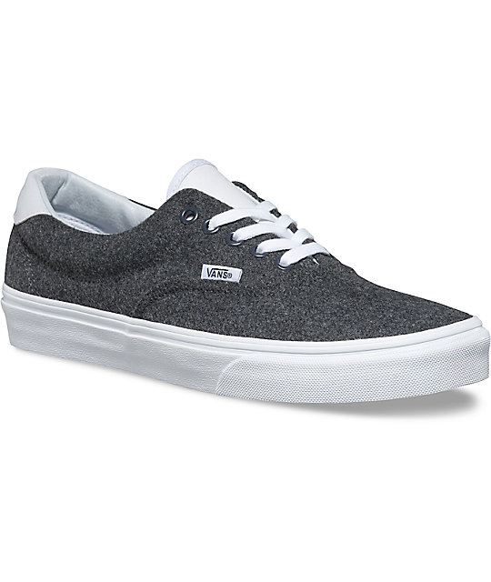 Vans Varsity Era 59 Charcoal   White Shoes  ea7c360c014b