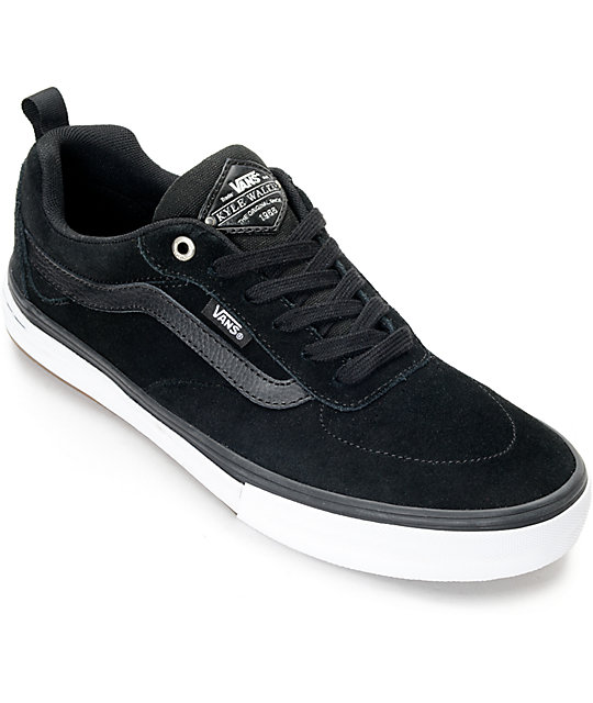 Vans Men's Shoe's (Kyle Walker Pro) --Black/Blue Fog