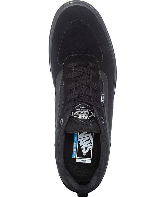 Vans Walker Pro Blackout Skate Shoes