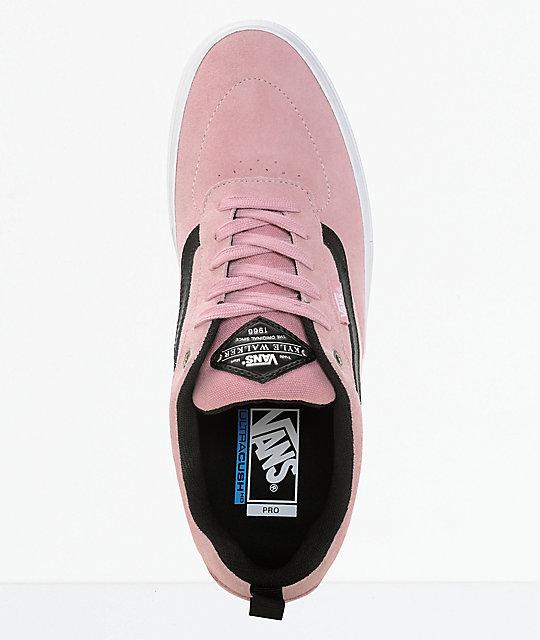 ... Vans Walker Pro Pink Skate Shoes ... f1a7d55c5