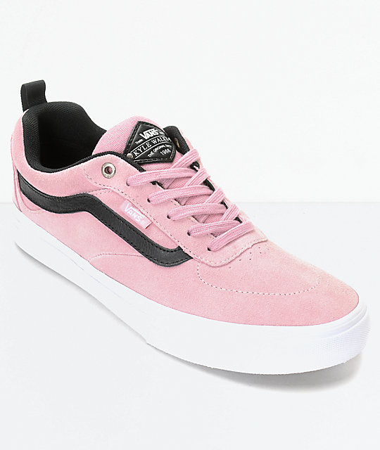 255c01db74 Vans Walker Pro Pink Skate Shoes