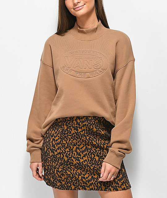 Vans Wood Junction Mock Neck Sweatshirt
