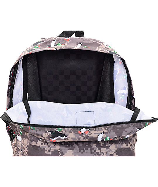50fe2efaab7d ... Vans X Nintendo Old Skool II Duck Hunt 22L Backpack